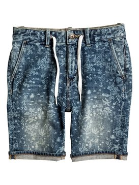 Bloom Field - Denim Shorts  EQBDS03043