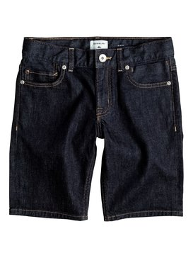Distorsion Rinse - Denim Shorts  EQBDS03044