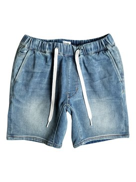 Fonic Creamy - Slim Fit Denim Jogger Shorts  EQBDS03046