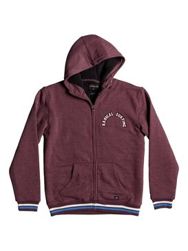 Radical Surfing Sherpa - Zip-Up Hoodie  EQBFT03258
