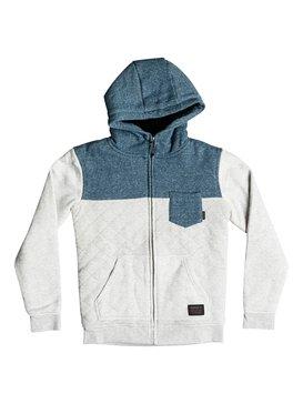 Best Trip - Quilted Zip-Up Hoodie  EQBFT03265