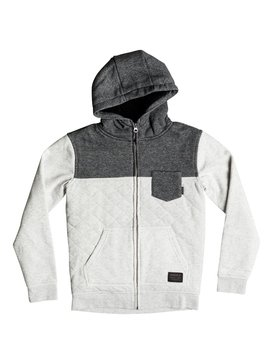 Best Trip - Quilted Zip-Up Hoodie  EQBFT03265