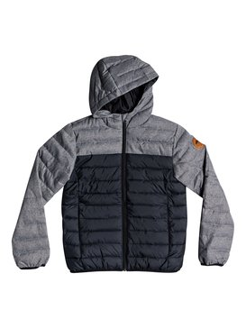 Scaly Mix - Water Resistant Hooded Insulator Jacket  EQBJK03156