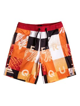 "Check Remix 15"" - Swim Shorts  EQBJV03026"