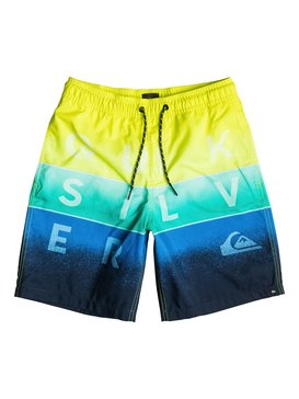 "Word Blocked 15"" - Swim Shorts  EQBJV03027"