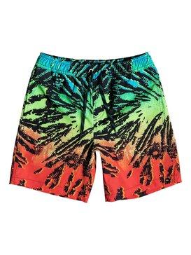 "Glitched 15"" - Swim Shorts  EQBJV03031"