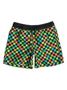 "Mini Check 13"" - Swim Shorts  EQBJV03034"