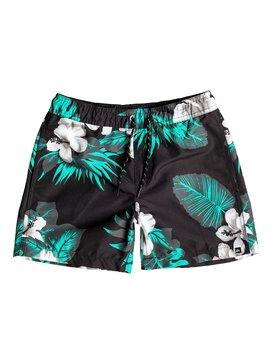 "Havana 13"" - Swim Shorts  EQBJV03036"
