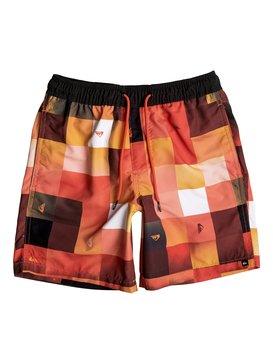 "Check Mark 15"" - Swim Shorts  EQBJV03096"