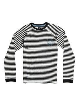 Fin Eat Stripe - Long Sleeve T-Shirt  EQBKT03064