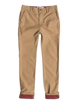 Krandy Block Slim - Chino Pocket Pant  EQBNP03032