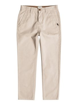 EVERYDAY CHINO YOUTH Beige EQBNP03049