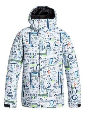 Mission Printed - Snowboard Jacket  EQBTJ03002