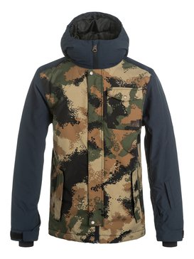 RIDGE YOUTH JACKET Brown EQBTJ03032