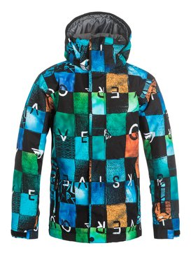 Mission Printed - Snow Jacket  EQBTJ03037