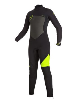 Syncro 5/4/3mm - Back Zip Full Wetsuit  EQBW103009