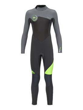 Syncro 3/2mm - Back Zip Full Wetsuit  EQBW103013