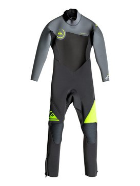 Syncro 4/3mm - Back Zip Full Wetsuit  EQBW103014