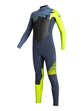 4/3mm Highline Plus - Chest Zip Wetsuit  EQBW103032