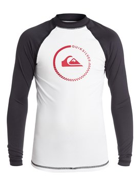 Lock Up - Long Sleeve Rash Vest  EQBWR03000