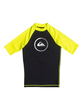 Lock Up - Short Sleeve Rash Vest  EQBWR03010