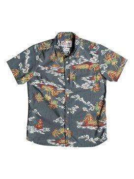 Island Apocalyspe - Short Sleeve Shirt  EQBWT03137