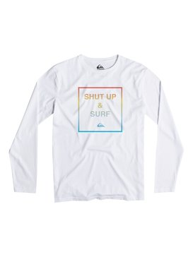 Classic Shut Up And Surf - Long Sleeve T-Shirt  EQBZT03152