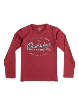 Classic West Pier - Long Sleeve T-Shirt  EQBZT03359