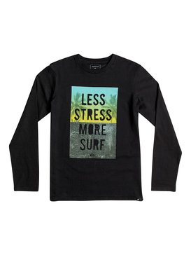 Classic Less Stress - Long Sleeve T-Shirt  EQBZT03363