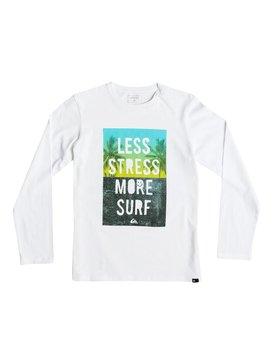 Classic Less Stress - Long Sleeve T-Shirt  EQBZT03363
