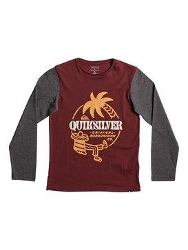 Colorblock Tacos - Long Sleeve T-Shirt  EQBZT03576
