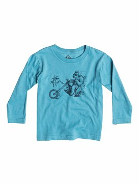 Organic Bear Chopper - Long Sleeve T-Shirt  EQIZT03008