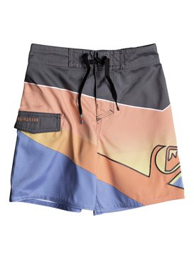 "Slash Fade Logo 12"" - Board Shorts  EQKBS03154"