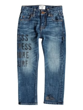 Distorsion Medium Blue - Slim Fit Jeans  EQKDP03043