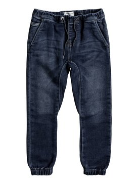 Fonic Hash Blue - Slim Fit Denim Joggers  EQKDP03067