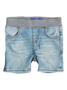 Thick Wood - Denim Shorts  EQKDS03009