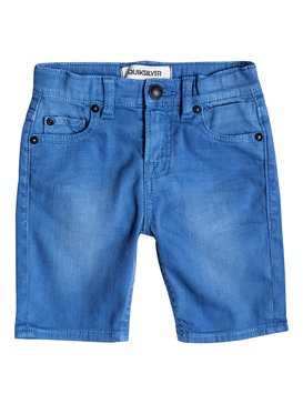 Distorsion Colors - Denim Shorts  EQKDS03010