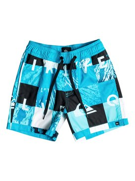 "Check Remix 12"" - Swim Shorts  EQKJV03009"