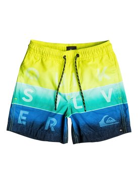 "Word Blocked 12"" - Swim Shorts  EQKJV03010"