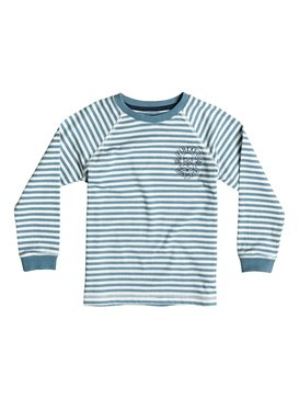Fin Eat Stripe - Long Sleeve T-Shirt  EQKKT03058
