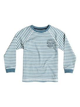 Fin Eat Stripe - Long Sleeve T-Shirt  EQKKT03058