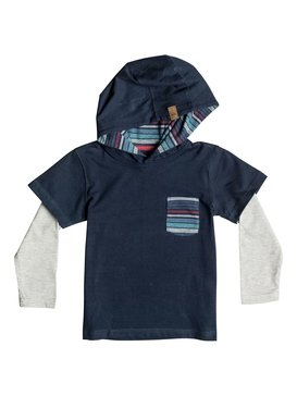 Sun Shines - Hooded Long Sleeve T-Shirt  EQKKT03060