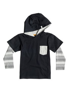 Sun Shines - Hooded Long Sleeve T-Shirt  EQKKT03060