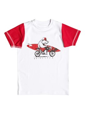 Bear On The Way - Short Sleeve Rash Vest  EQKWR03015