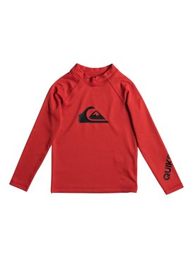 All Time - Long Sleeve Rash Vest  EQKWR03020