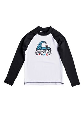 Bubble Dream - Long Sleeve Rash Vest  EQKWR03023
