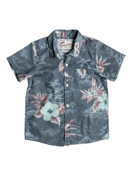 PARROT JUNGLE SHIRT SS BOY Azul EQKWT03081