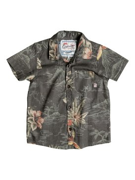 PARROT JUNGLE SHIRT SS BOY Negro EQKWT03081