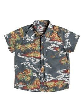 Island Apocalyspe - Short Sleeve Shirt  EQKWT03092