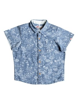 Bloom Field Diver - Short Sleeve Shirt  EQKWT03105